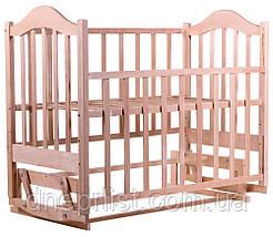 Кровать Babyroom Дина D200 маятник  без лака, фото 2