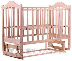 Ліжко Babyroom Діна D200 маятник без лаку, фото 3