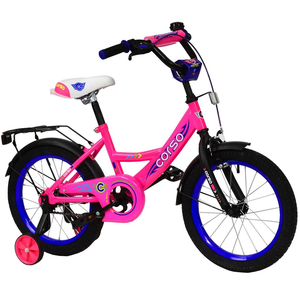 Велосипед CORSO Розовый С-16650