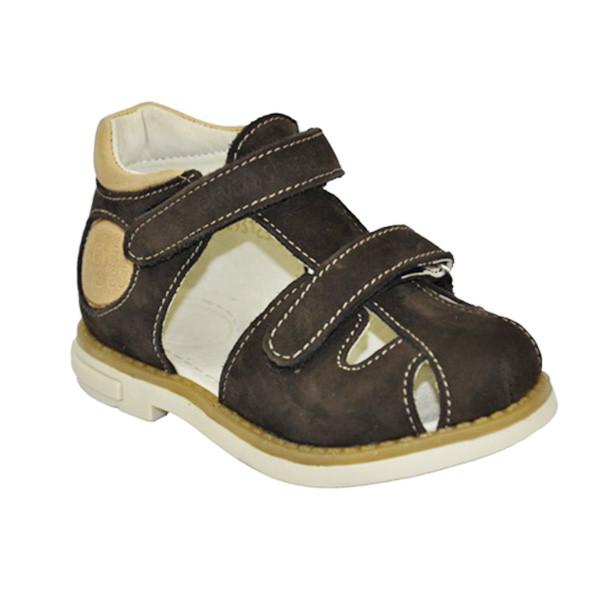 Босоножки для мальчика коричневые, Eleven Shoes