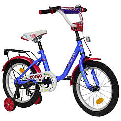 Велосипед CORSO Голубой С-16030