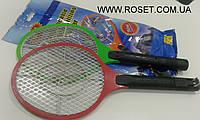 Мухобойка электрическая в виде теннисной ракетки, фото 1