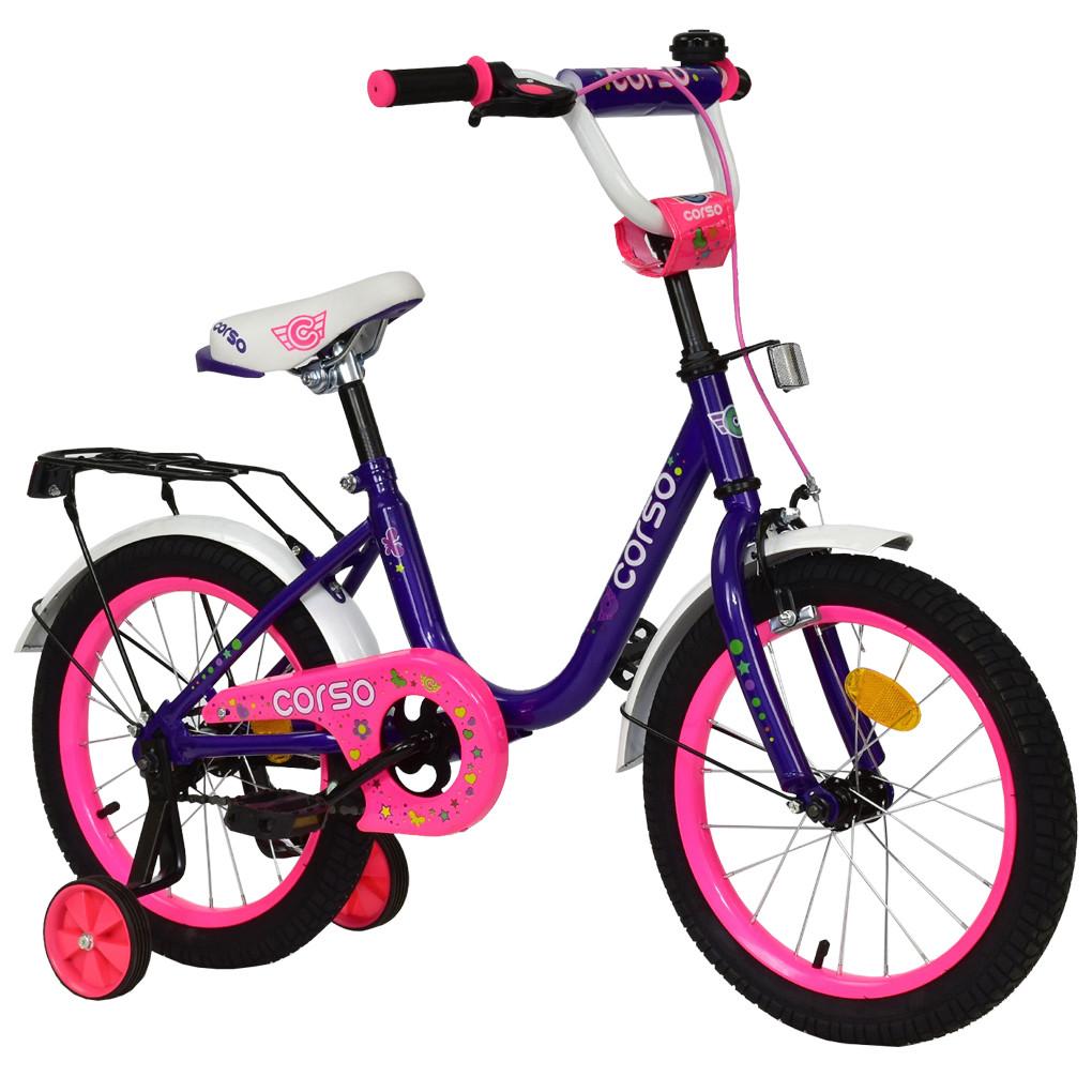 Велосипед CORSO Фиолетовый С-16100