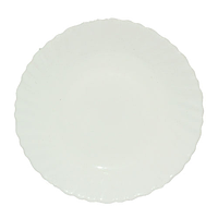 Тарелка 19 см белая A2 Набор 6 шт