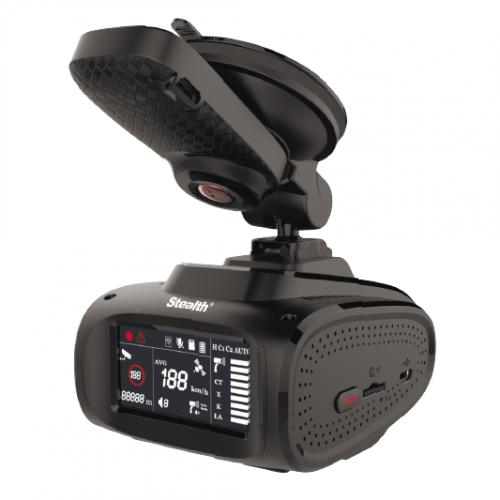 Автомобильный видеорегистратор Stealth MFU 650 с антирадаром, GPS и Wi