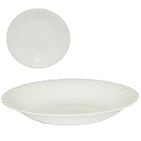 Тарелка 22 см супная  белая A2 \