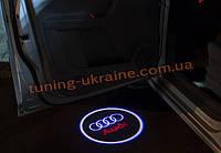 Проекция логотипа автомобиля AUDI
