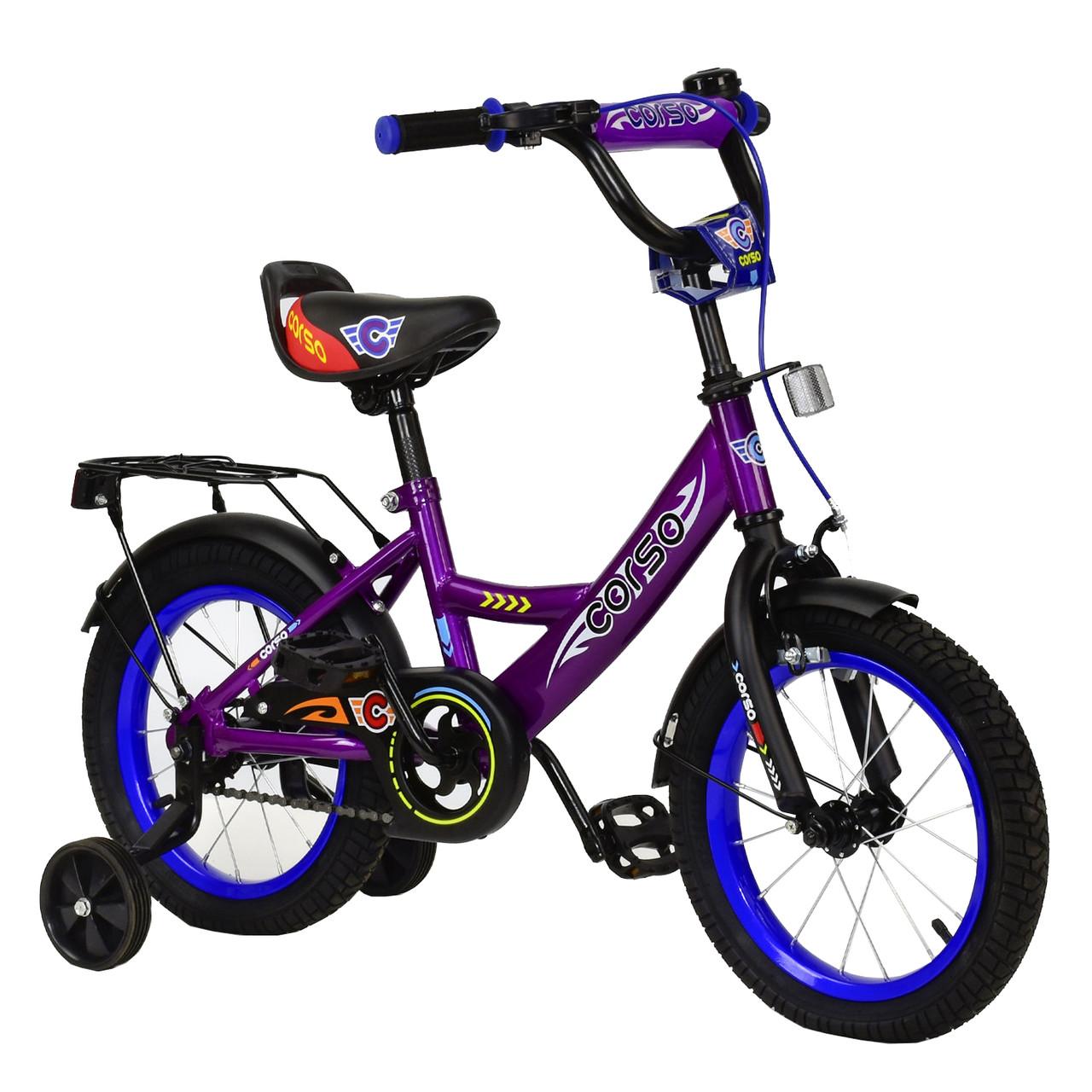 Велосипед CORSO Фиолетовый С-14120