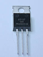 Симистор BT137-600 (TO-220AB)