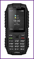 Телефон SIGMA MOBILE X-TREME DT68 (Black). Гарантия в Украине 1 год!