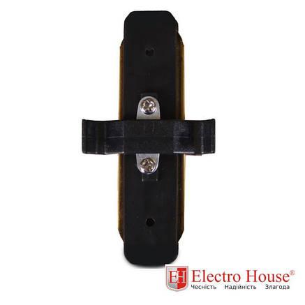 Коннектор прямой черный 180 градусов Electro House, фото 2