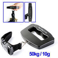Весы цифровые электронные кантерные Luggage Scale ACS A09 до 50 кг, фото 1