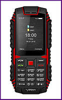 Телефон SIGMA MOBILE X-TREME DT68 (Black-red). Гарантия в Украине 1 год!