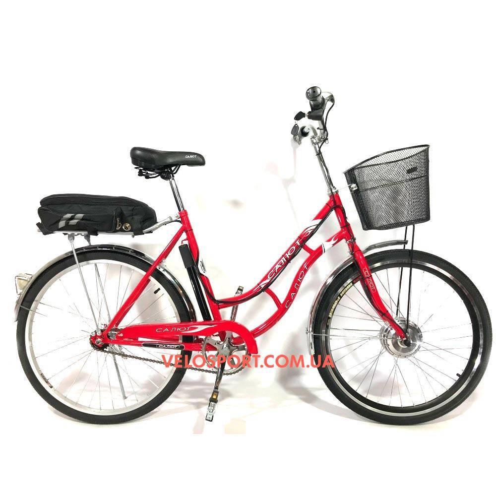 Электровелосипед Салют Retro 26 дюйма