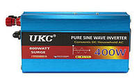 Инвертор напряжения 24-220 Вольт 280Вт UKC XR-400W чистая синусоида