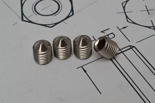 Гвинти настановні DIN 914 із сталі А2