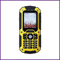 Телефон Sigma X-treme PQ67 (BLACK-YELLOW). Гарантия в Украине 1 год!