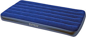 Intex Надувной матрас матрас 68757 синий, 99х191х22см, фото 2