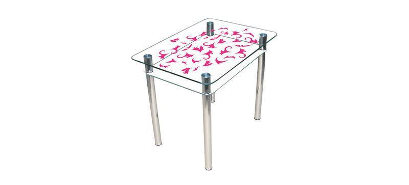 Стол обеденный стеклянный Простор 90х65 (Sentenzo TM)