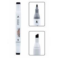 Маркер косметический MALEK SALOON  Tattoo Eye & Brow liner pen (chestnut brown №98/коричневый)