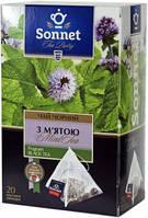 Чай черный Sonnet с мятой, 20 пир.