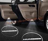 Проекция логотипа автомобиля Hummer