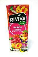 Riviva сок с яблочно персиковым вкусом 200 мл Польша