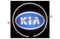 Проекция логотипа автомобиля KIA