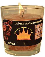 Свеча в стакане Арома кофе GA68-COF, ТМ Pragnis