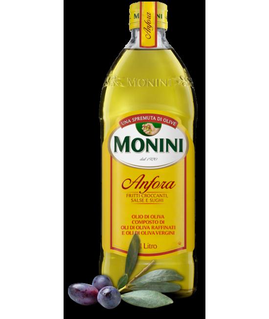 Оливковое масло рафинированое Monini anfora  1л