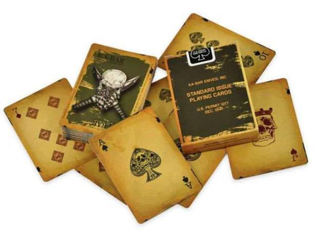 Карты игральные KA-BAR продукт USA (9914) (Ka-Bar), США