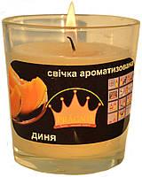 Свеча в стакане Арома дыня GA68-MEL, ТМ Pragnis