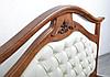 Кровать двуспальная Маргарита 1,6 м ольха массив, фото 3