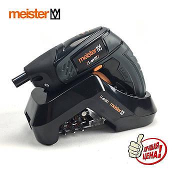 Акумуляторний шуруповерт электроотвертка Meister i-drill pico 3.0, 3,6 V, Німеччина