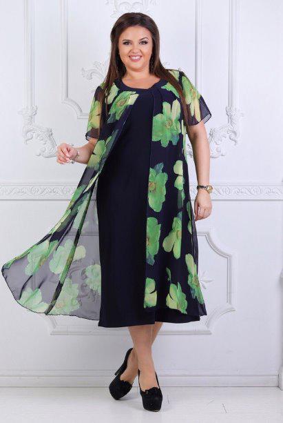 0903c996091 Женское платье летнее с шифоновой накидкой  продажа