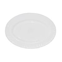 Блюдо овальное белое 25 см D1 Набор 6 шт