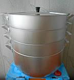 Мантоварка на 6 литров (Демидовский) - 3 сетки, фото 3