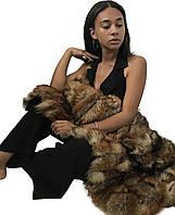 2в1 ковер и одеяло из натурального меха лисы 120*70 RO-1423