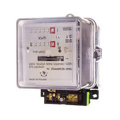 Счетчик электроэнергии 1-фазный II тарифный A52c 10/40А 220В REG./WZOR.