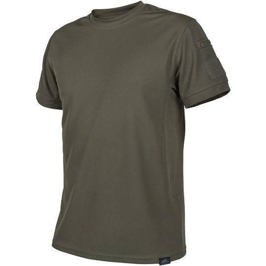 Тактическая футболка Tactical T-shirt Helikon TopCool Olive Green (TS-TTS-TC-02) M (TS-TTS-TC-02 (M)