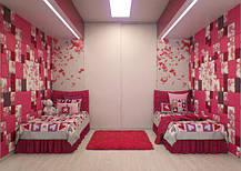 Мягкие стеновые панели для детских и игровых комнат