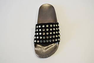 Шлепанцы женские черные Sopra PC13, фото 2