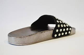 Шлепанцы женские черные Sopra PC13, фото 3