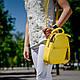 Рюкзак белый кожаный женский. цвет кожи можно любой. Производитель Украина, фото 8