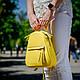 Рюкзак белый кожаный женский. цвет кожи можно любой. Производитель Украина, фото 9
