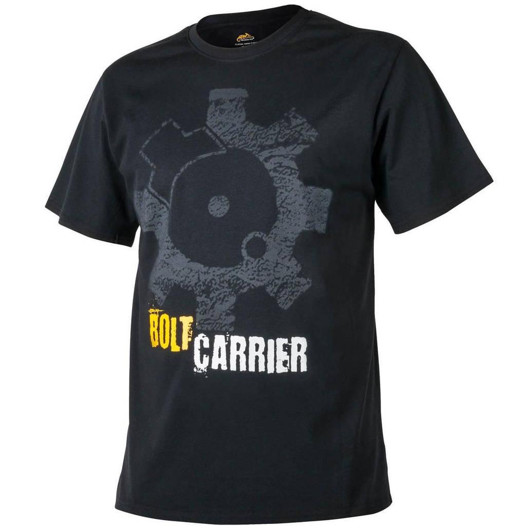 Футболка Helikon-Tex® T-Shirt Print Bolt Carrier - Черная XXXL (TS-BCR-CO-01 XXXL), Польша