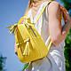 Рюкзак кожаный женский. цвет кожи можно любой. Производитель Украина, фото 4