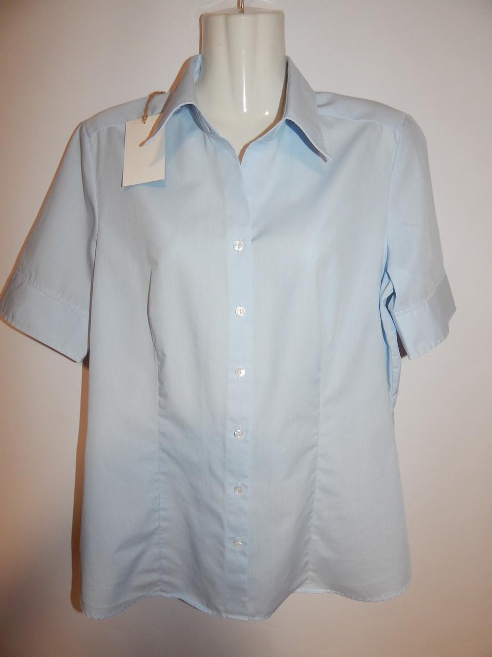 Блуза фирменная женская seidensticker 48-50р.178ж