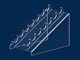 Підставка під туш 110х140 мм, акрил 1,8 мм, фото 2