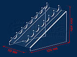 Підставка під туш 110х140 мм, акрил 1,8 мм, фото 3